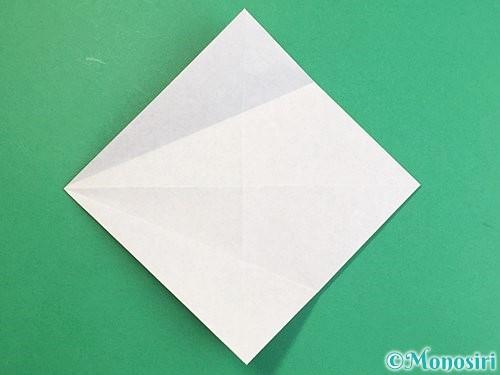 折り紙で立体的な猪の折り方手順7