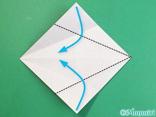 折り紙で立体的な猪の折り方手順8
