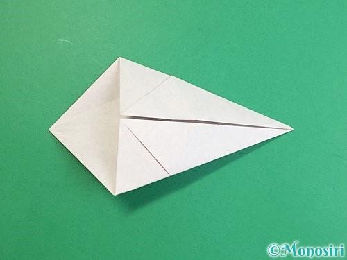 折り紙で立体的な猪の折り方手順9