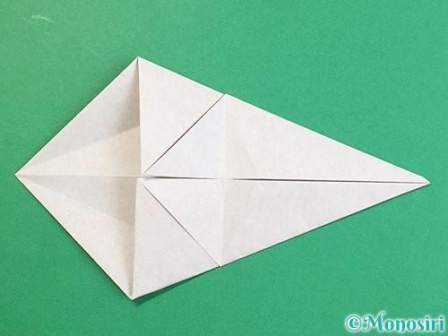 折り紙で立体的な猪の折り方手順11