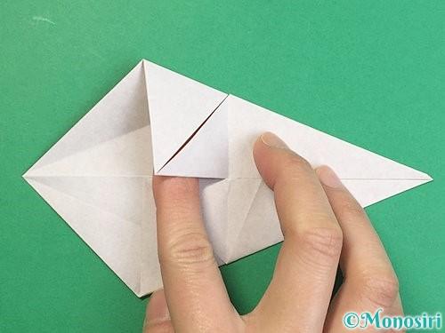 折り紙で立体的な猪の折り方手順12