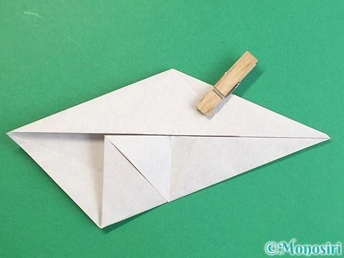 折り紙で立体的な猪の折り方手順14
