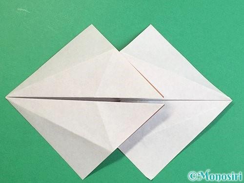 折り紙で立体的な猪の折り方手順19