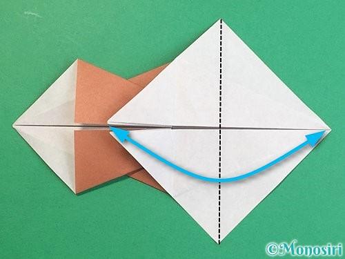 折り紙で立体的な猪の折り方手順24