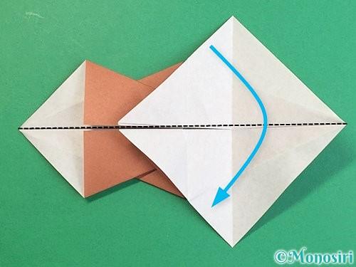 折り紙で立体的な猪の折り方手順26