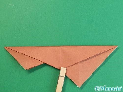 折り紙で立体的な猪の折り方手順27