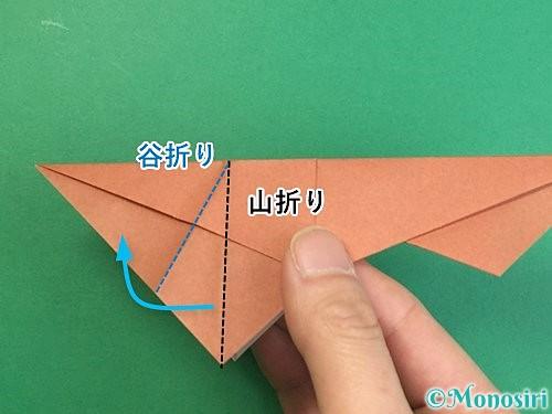 折り紙で立体的な猪の折り方手順34