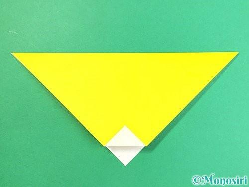 折り紙でキツネの折り方手順4