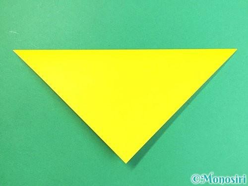 折り紙でキツネの折り方手順5