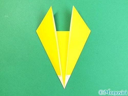 折り紙でキツネの折り方手順7