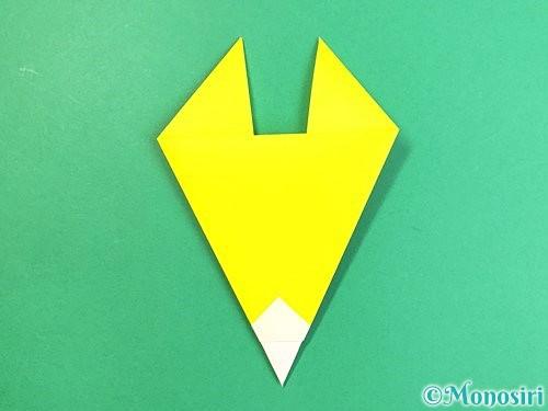 折り紙でキツネの折り方手順8
