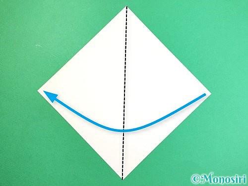 折り紙でキツネの折り方手順10