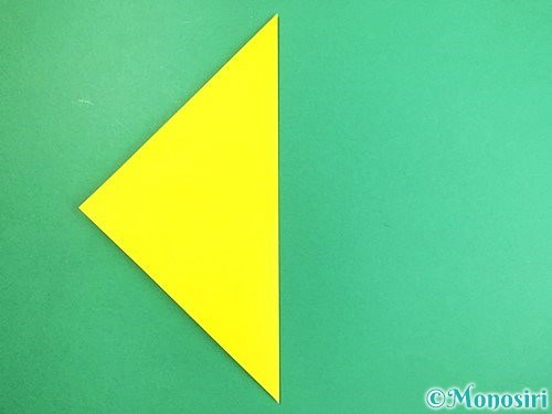 折り紙でキツネの折り方手順11