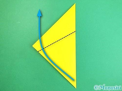 折り紙でキツネの折り方手順12