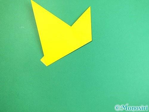 折り紙でキツネの折り方手順13