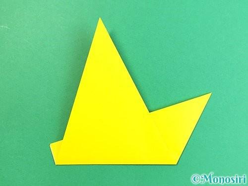 折り紙でキツネの折り方手順14