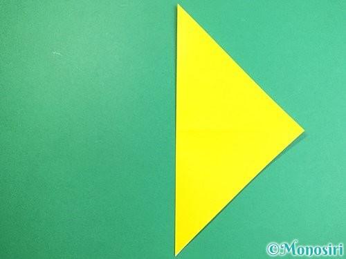 折り紙で立体的なキツネの折り方手順4