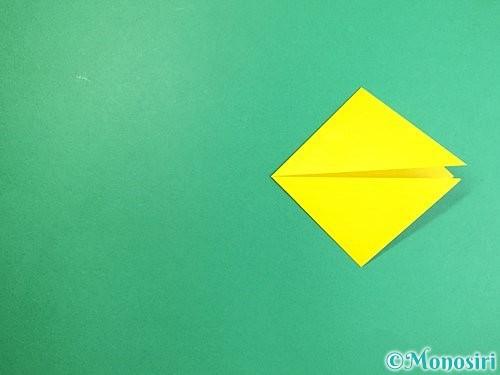 折り紙で立体的なキツネの折り方手順6