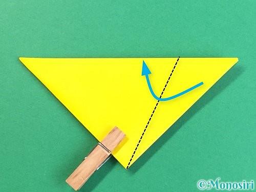折り紙で立体的なキツネの折り方手順9
