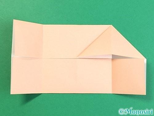 折り紙で立体的な豚の折り方手順9