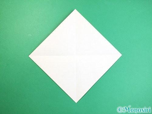 折り紙で立体的なキリンの折り方手順2