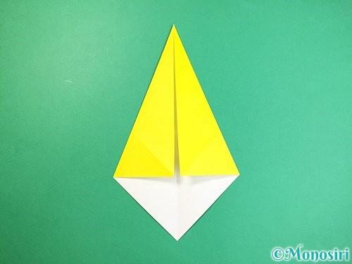 折り紙で立体的なキリンの折り方手順4