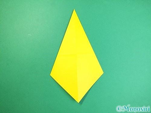 折り紙で立体的なキリンの折り方手順5