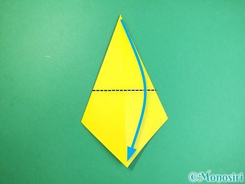 折り紙で立体的なキリンの折り方手順6