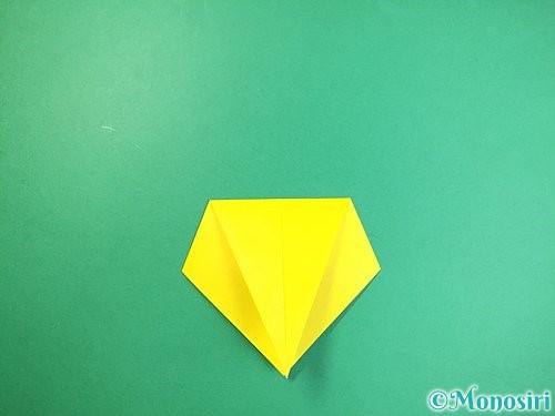 折り紙で立体的なキリンの折り方手順7