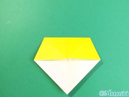 折り紙で立体的なキリンの折り方手順8