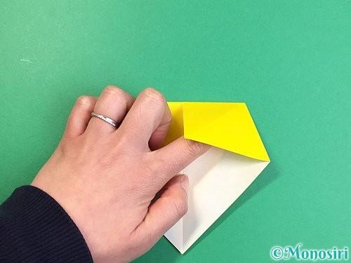 折り紙で立体的なキリンの折り方手順9