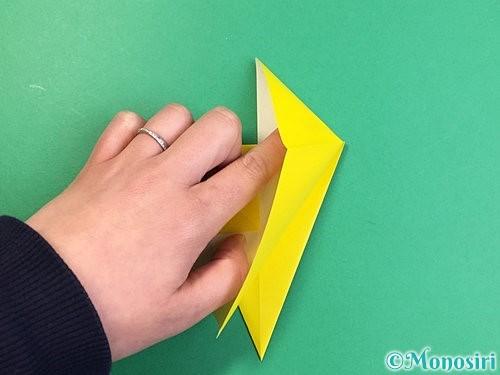 折り紙で立体的なキリンの折り方手順10