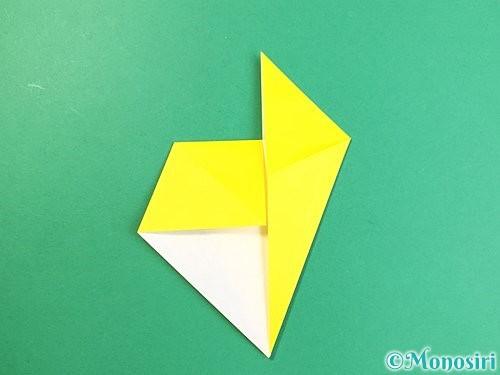 折り紙で立体的なキリンの折り方手順11
