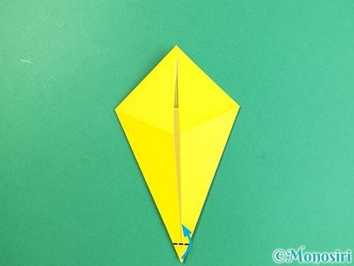 折り紙で立体的なキリンの折り方手順13