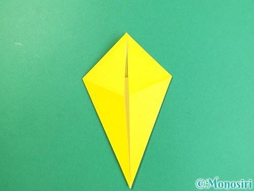 折り紙で立体的なキリンの折り方手順12