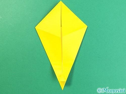 折り紙で立体的なキリンの折り方手順14