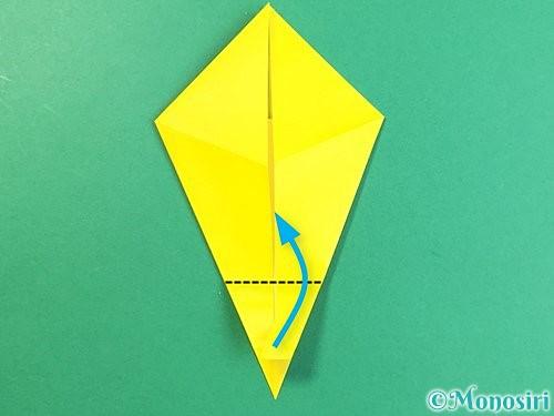折り紙で立体的なキリンの折り方手順15
