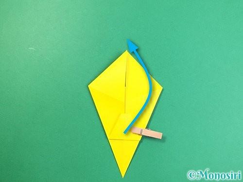 折り紙で立体的なキリンの折り方手順17