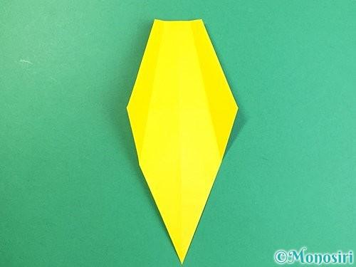折り紙で立体的なキリンの折り方手順20