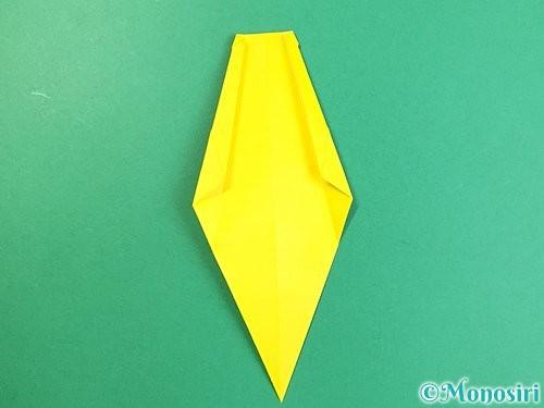 折り紙で立体的なキリンの折り方手順22