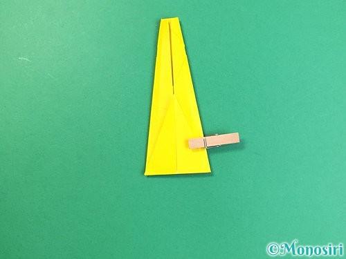 折り紙で立体的なキリンの折り方手順26