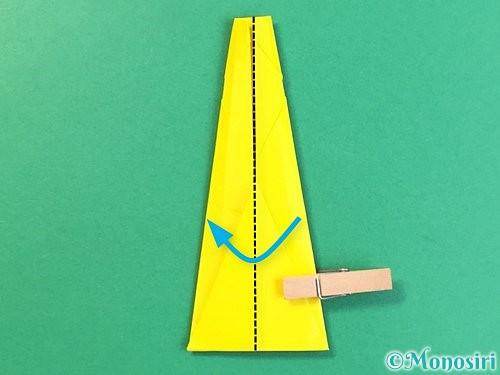 折り紙で立体的なキリンの折り方手順27