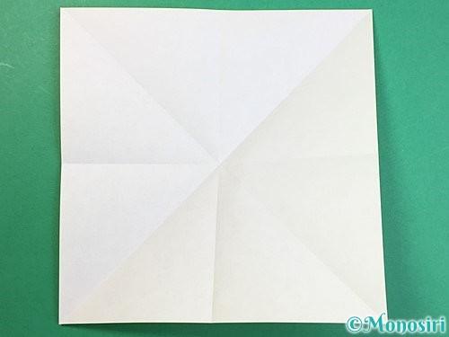 折り紙で立体的なキリンの折り方手順45