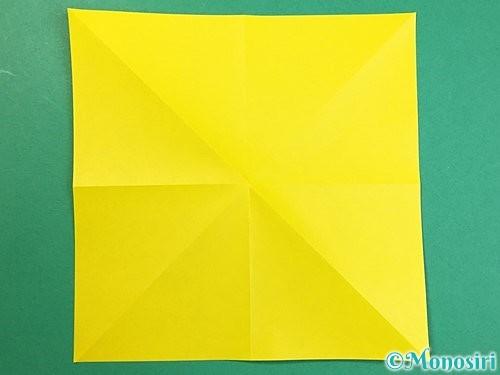 折り紙で立体的なキリンの折り方手順46