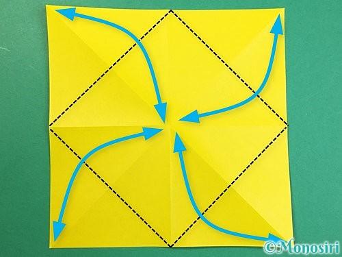 折り紙で立体的なキリンの折り方手順47