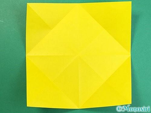 折り紙で立体的なキリンの折り方手順48