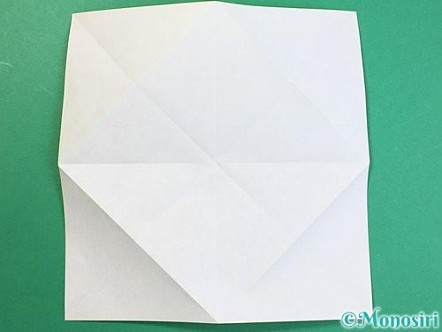 折り紙で立体的なキリンの折り方手順49