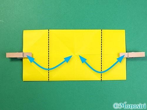 折り紙で立体的なキリンの折り方手順52