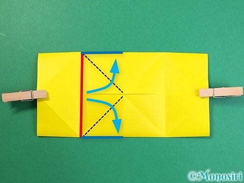 折り紙で立体的なキリンの折り方手順54