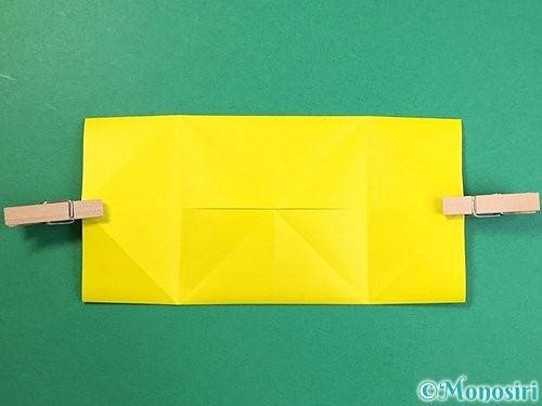 折り紙で立体的なキリンの折り方手順53